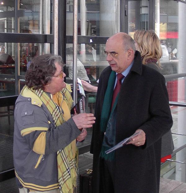 Antoinette Vermolen (Media Group) in gesprek met Jan Pronk